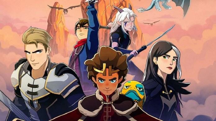 Le Prince Dragon Saison 4