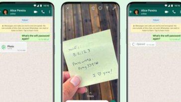 Whatsapp Obtient Une Vue Unique Pour Les Photos Et Les