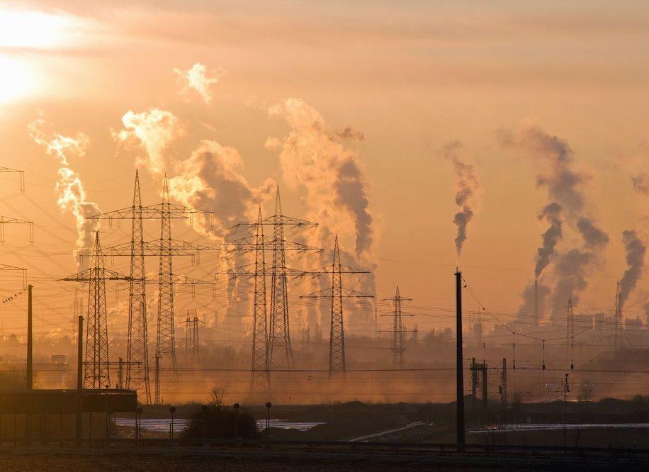 Pollution et climat sur la planète