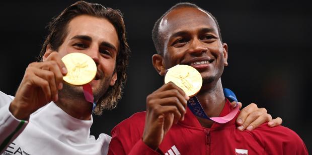 Olympians Share Gold Tamberi Barshim.jpg