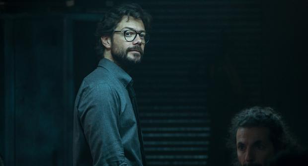"""Le professeur sera-t-il le protagoniste du spin-off de """"La maison de papier"""" ?  (Photo : Netflix)"""