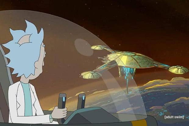 Rick a quitté la Citadelle et le Conseil (Photo : Rick et Morty / Adult Swim)