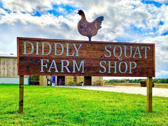Crédit: Facebook/Diddly Squat Farm Shop