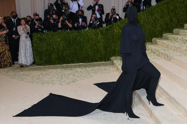 Les avis ont été sérieusement divisés sur le look «haute couture».  Crédit : PA