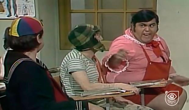 À l'école, Ñoño a continué d'être le centre du ridicule de ses camarades de classe à cause de son poids (Photo: El Chavo del 8 / Televisa)