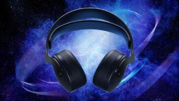 Casque sans fil PS5 Pulse 3D disponible en noir minuit à partir du mois prochain