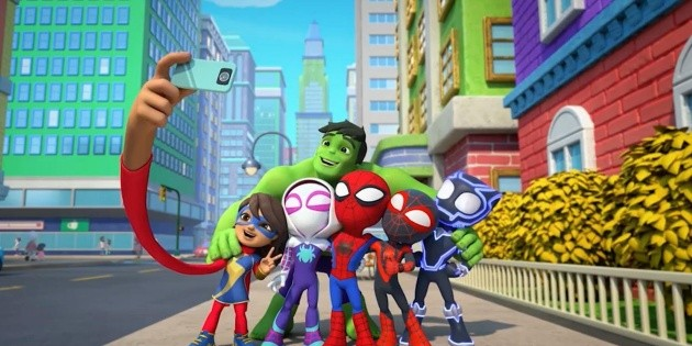 Spidey : la nouvelle série pour enfants de Marvel débarque sur Disney+