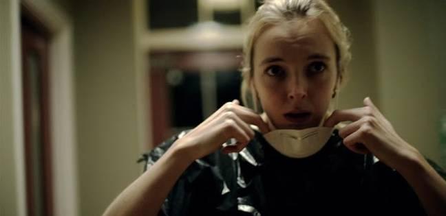 Jodie Comer dans le rôle de Sarah dans l'aide de Channel 4.  Crédit : Canal 4