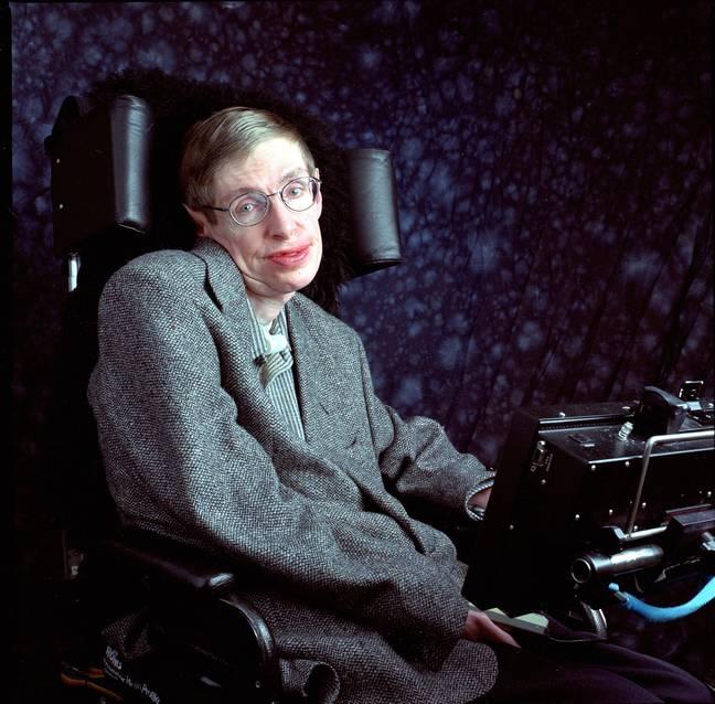 Hawking en 1988. Crédit : PA