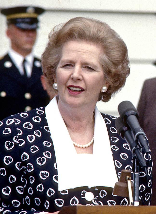 Thatcher est décédé en 2013, à l'âge de 87 ans. Crédit : PA