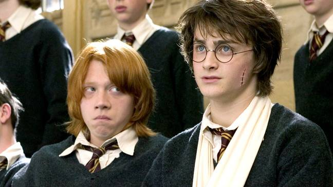 Rupert Grint et Daniel Radcliffe avaient quelques années de plus que l'âge de leur personnage dans la franchise Harry Potter.  Crédit : Warner Bros
