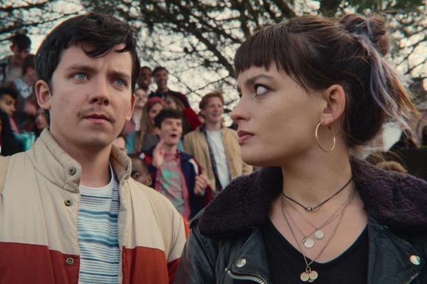 """Otis et Maeve vont-ils commencer une romance dans la saison 4 de """"Sex Education"""" ?  (Photo : Netflix)"""