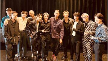 Le chanteur de Coldplay parle de la collaboration du groupe avec BTS