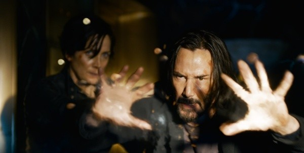 matrice keanu reeves néo carrie anne mousse trinité