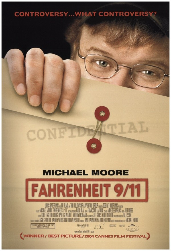 Fahrenheit 911 michael moore