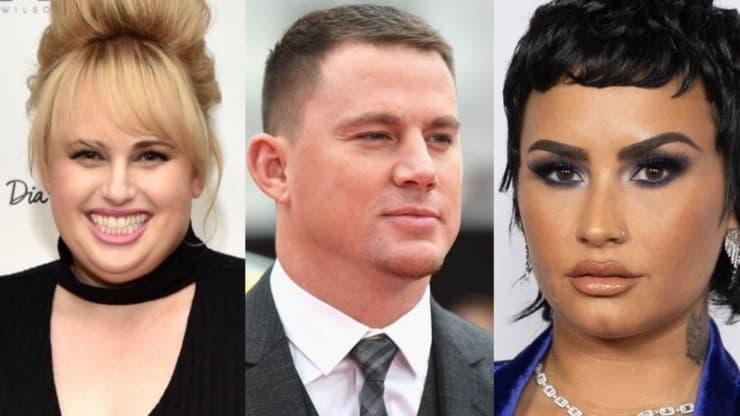 Rebel Wilson, Channing Tatum et Demi Lovato utilisent les applications