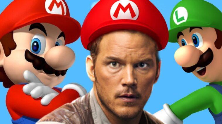 Chris Pratt Joue Dans Le Film D'animation Super Mario Bros.