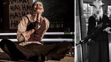 De Nouvelles Images #releasetheayercut Montrent Joker Et Son équipage Masqué