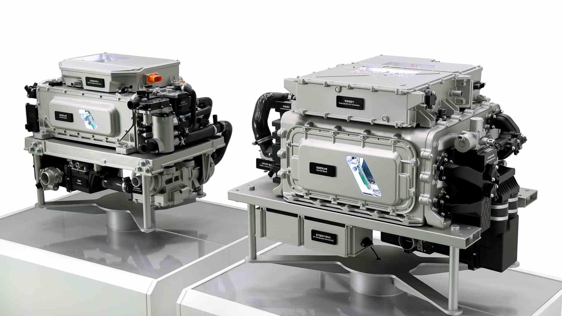Le groupe motopropulseur à pile à combustible de troisième génération devrait faire ses débuts dans le Hyundai Nexo mis à jour en 2023. Image: Hyundai