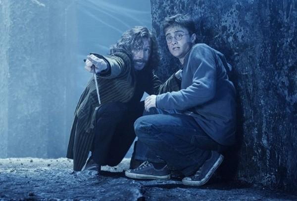 Daniel Radcliffe et Gary Oldman.  Photo: (IMDB)