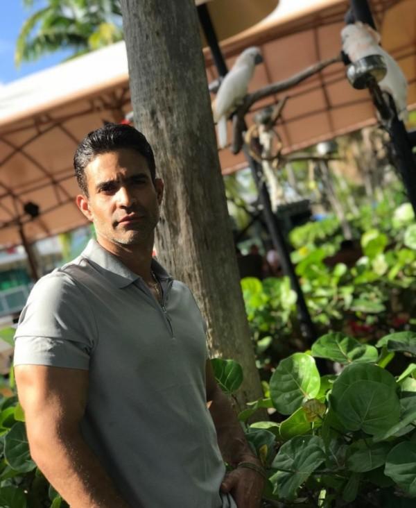 Juan Vidal Gil a le désir de retourner travailler dans son pays.  Photo : (@juanvidalgil)