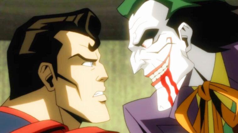 La Bande Annonce D'injustice Red Band Montre Un Superman Déséquilibré Perçant