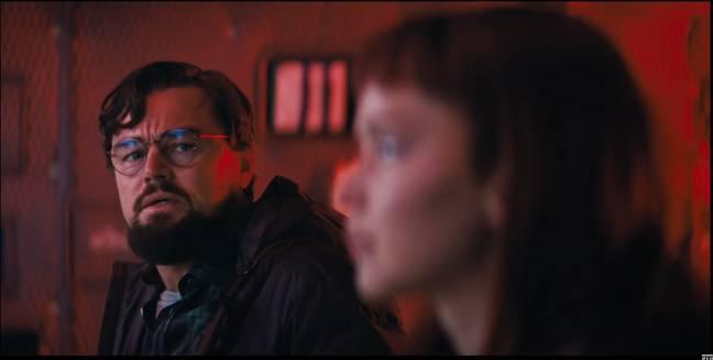 Léo DiCaprio.  Crédit : Netflix