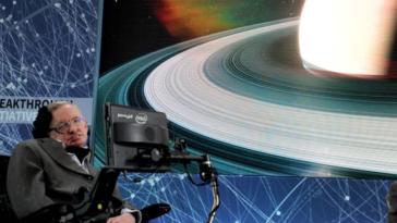 Hawking en 2016. Crédit : PA