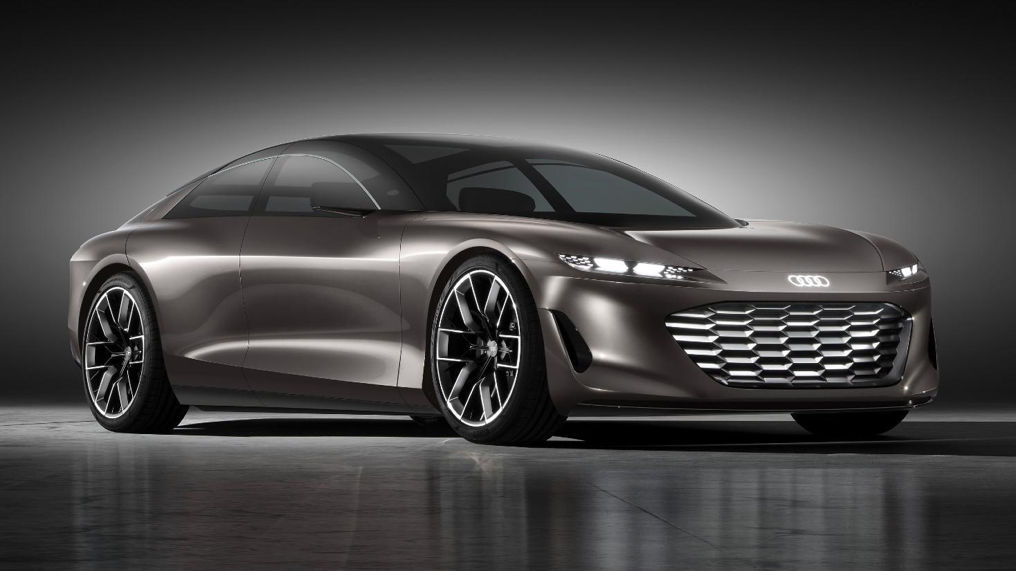 La grande sphère est un aperçu de ce que l'on peut attendre du successeur de l'Audi A8.  Image : Audi
