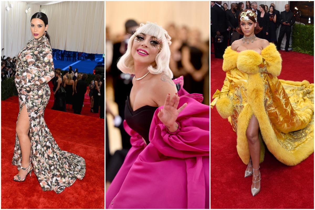 Kim Kardashian West, Lady Gaga et Rihanna ont assisté au gala du Met au fil des ans en robes haute couture.