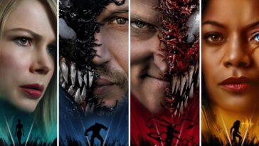 Les Affiches Des Personnages De Venom 2 Vous Laisseront Hurler