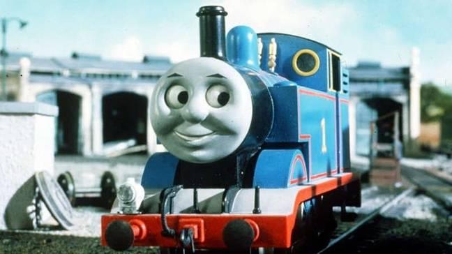 Une ancienne version de Thomas.  Crédit : Mattel Télévision
