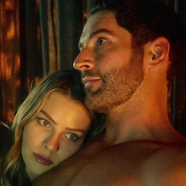 Tom Ellis et Lauren German.  Photo: (Netflix)