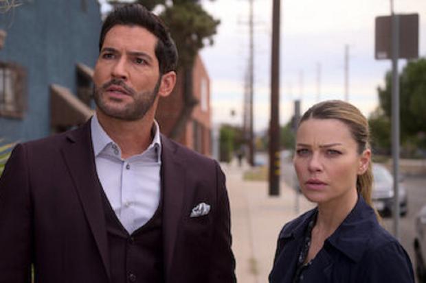 Chloé se prépare à devenir la conseillère de Lucifer, mais... (Photo : Netflix)