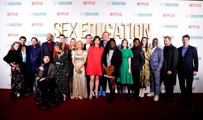 La saison 2 de Sex Education a été diffusée lors de la première mondiale en janvier 2020. (Crédit: PA)