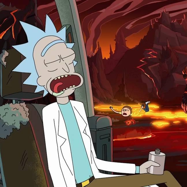 Rick et Morty (Crédit: Twitter/@rickandmorty)