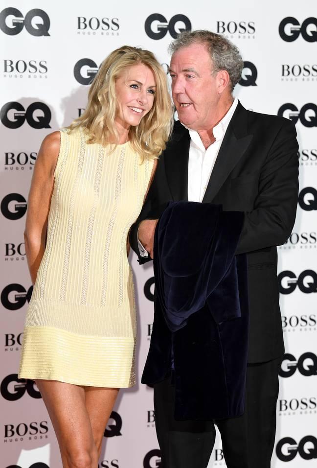 Jeremy Clarkson et Lisa Hogan aux prix GQ Men of the Year en septembre 2017. (Crédit: PA)
