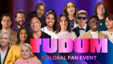 Regardez L'événement Mondial Des Fans De Tudum De Netflix Dès