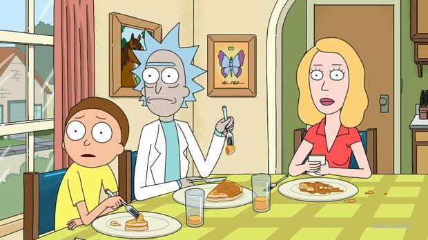 Beth et Morty ont sauvé Rick C-137 (Photo: Rick et Morty / Adult Swim)