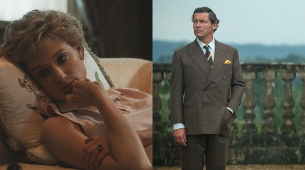 Les nouveaux Carlos et Diana pour The Crown 5. Photo : (Netflix)