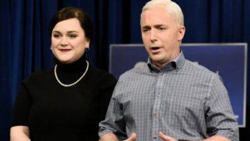 Saturday Night Live Perd Beck Bennett Et Lauren Holt Alors