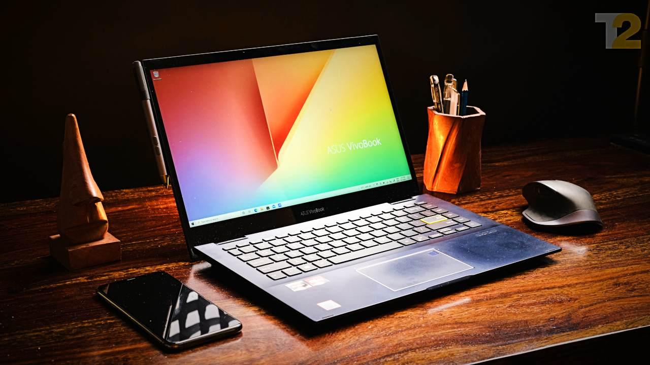 Le Vivobook Flip 14 a fière allure et est bien construit.  Je souhaite que l'écran soit plus lumineux et moins délavé, mais l'expérience globale est excellente.  Image: Tech2/Anirudh Regidi