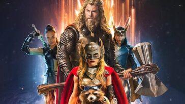 Thor: Love And Thunder Obtient Un Nouveau Logo Qui Rend