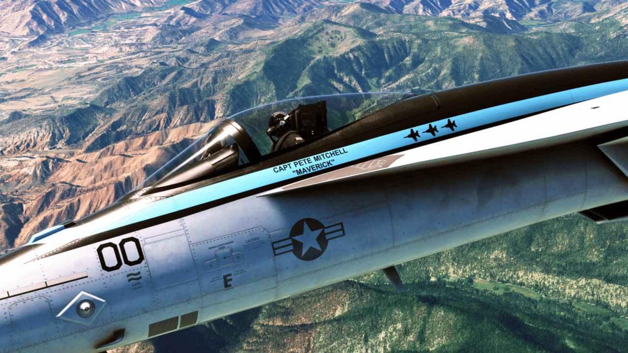 Top Gun De Microsoft Flight Simulator : L'extension Maverick Reportée
