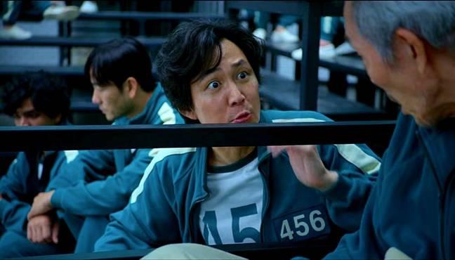 Lee Jung-jae dans le rôle de Seong Gi-hun dans Squid Game. (Crédit: Netflix)