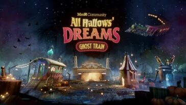 All Hallows' Dreams: Ghost Train semble être un vrai régal, en direct maintenant dans Dreams sur PS4
