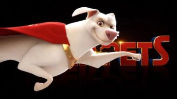 DC League of Superpets est la câpre canine que vous attendiez