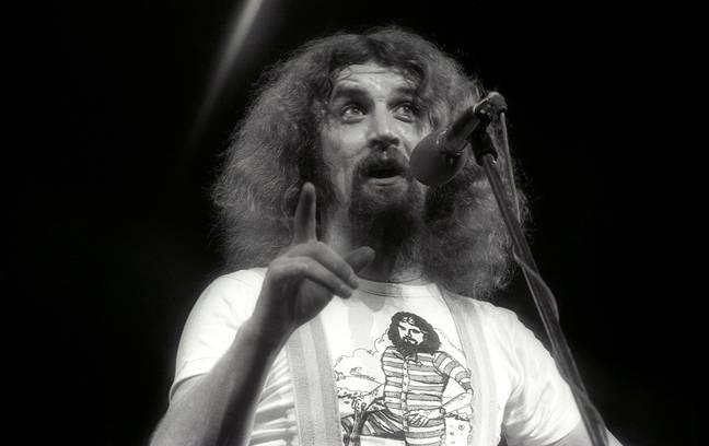 Connolly sur scène en 1977. Crédit : Alamy