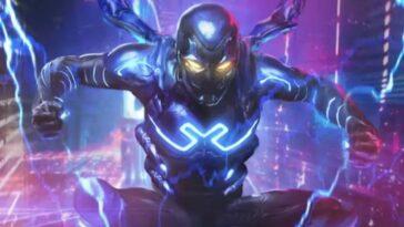 Blue Beetle Concept Art Révèle Jaime Reyes Dans Le Film