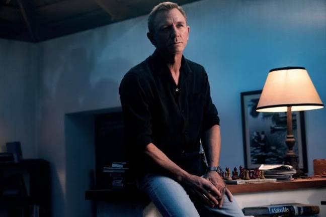 Daniel Craig dans Pas le temps de mourir.  (Crédit: 007.com)